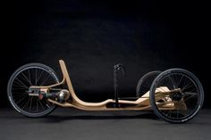 """Rennholz """"Race Wood"""" - wooden racer is powered by nothing more than an everyday electric drill"""