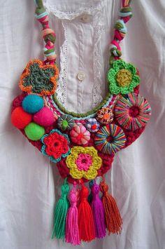 Collar textil