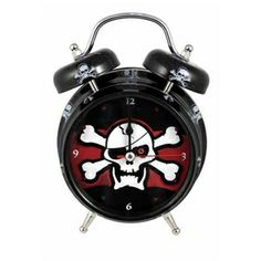 Light And Sound Pirate Alarm Clock