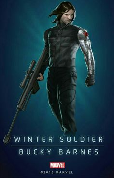 Poster of 'Winter Soldier'
