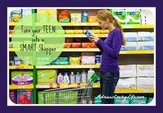 Smart Money:  Teach Your Teen to be a Smart Shopper #AdriansCrazyLife #Parenting #Money #Teens
