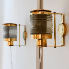Shop wall lights and sconces and other antique, modern and contemporary lamps and lighting from the world's best furniture dealers. Outdoor Wall Lighting, Wall Sconce Lighting, Wall Sconces, Wall Lamps, Hanging Lamps, Lighting Ideas, Desk Lamp, Vintage Wall Lights, Modern Wall Lights