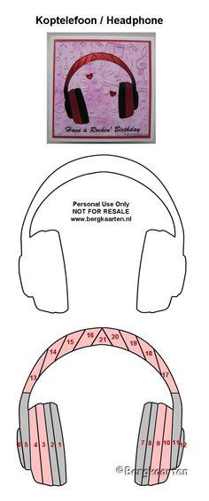 Headphones Template