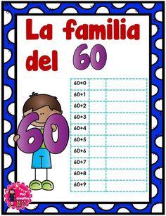 Decimos que dos o más números, con el mismo número de dígitos, son miembros de la misma familia, cuando dos de dichos números tienen al menos un dígito común. Por … Decimal, Kids And Parenting, Teaching Kids, Worksheets, Words, Inspired, Tens And Units, Teaching Supplies, First Year