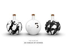 Greek olive oil packaging design