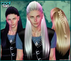 Emma's Simposium: Free Hair Pack #148 By Cool Sims - Donated/Gifted!...