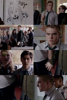 Rhydian reacts to a drawing of Maddy as a werewolf | Wolfblood Season 2 Episode 12