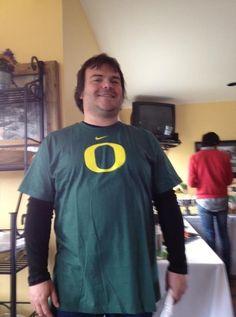 Jack Black reppin' Oregon