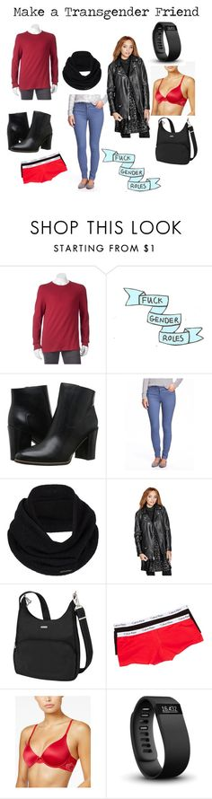 """My outfit today: Last Minute Xmas Shopping"" by genderschmender ❤ liked on Polyvore featuring SONOMA Goods for Life, Franco Sarto, Old Navy, prAna, GUESS, Travelon, Calvin Klein, Maidenform, Fitbit and genderfluid"