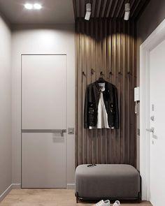 Gray Interior, Room Interior, Interior And Exterior, Interior Design, Hallway Furniture, Apartment Design, Small Apartments, Flat Design, Home And Living