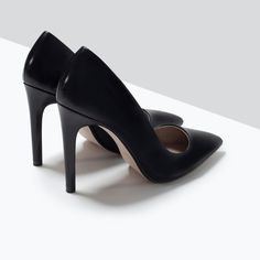 LEATHER COURT SHOE-Shoes-Woman-SHOES & BAGS | ZARA United States