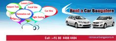 The best way to get dropped or picked from Bangalore airport flat rate transfer in Bangalore Book now http://rentacarbangalore.in/ or visit our website 080 4488 4484