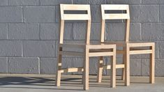 DIY Modern Plywood Chair | How To Make Two Chairs From One Sheet | #rock...