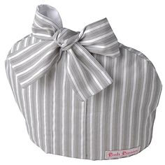 Grey Stripe Tea Cosy