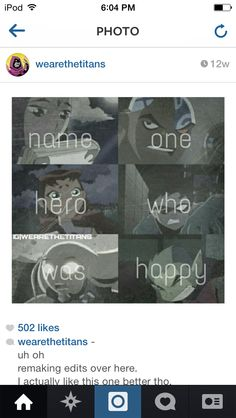 This makes me sad, especially Beast Boy and Star Fire because they always SEEM so happy