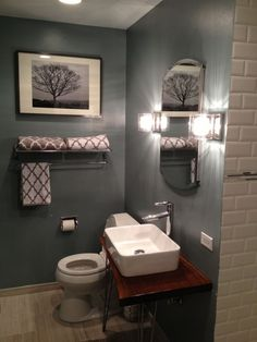 Small Restrooms different ways of decorating a bathroom | house, apartments and