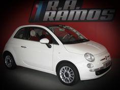 FIAT   500C CABRIO   LOUNGE   1.2   8V  Veja mais em: http://www.raramos.pt/viatura/161/fiat-500c
