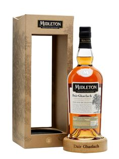 Midleton Dair Ghaelach is a single pot still whiskey that was aged initially in…