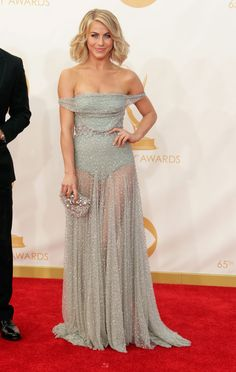 Soft waves  were hair trend at the 2013 Emmys. Marissa D