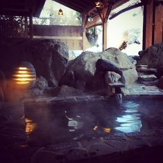 Posated on Twitter by @OnsenTipster #Relaxing in #Onsen after a day of #Snowboarding in #Japan  #BestOnsenSearch #OnsenTipster #HotSpring #Niigata  #Travel #Asia #Photo #myAsiaTravelguide.com