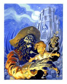Monkey Island 2: LeChuck's Revenge (Concept Art) | The International House of Mojo