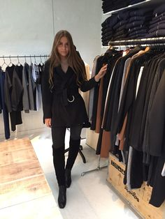 Mario Kragmann Freja wearing Hosbjerg AW15 collection