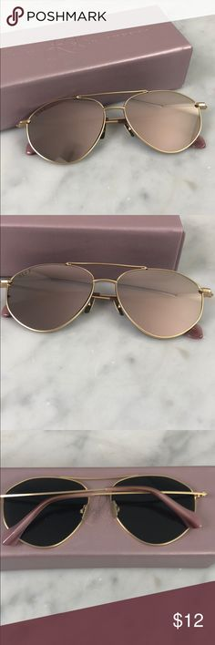 e2e2b5c4a90 Shop Women s Diff Eyewear size OS Sunglasses at a discounted price at  Poshmark. Description  Laura lee x diff eye wear peachy sunglasses new rose  gold ...