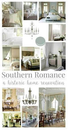 Southern Romance Historic Home Renovation Inspiration and Tour at foxhollowcottage.com
