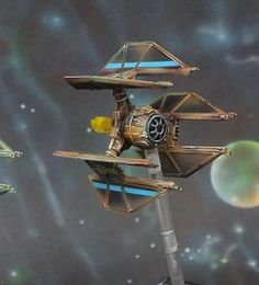 Tie Defender Squadron Rexler and Vessery