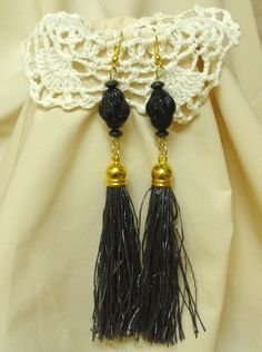 Kócos rojtok, különleges gyöngyök * Shaggy fringe, special beads Shaggy, Tassel Necklace, Tassels, Beads, Jewelry, Fashion, Jewerly, Beading, Moda