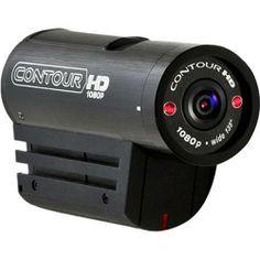 Contour HD 1080P Full HD Helmet Camera Accessories - Color: Black