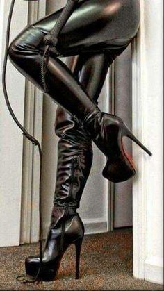platform high heels for small feet Black Thigh High Boots, High Heel Boots, Heeled Boots, Thigh High Boots Heels, Black Boots, Stilettos, Stiletto Heels, Shoes Heels, Platform High Heels