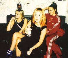 Geri Halliwell, Emma Bunton, Mel C, Spice Girls.