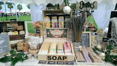 #Booth #Display for Christmas Under the Oaks #Craft #Show Nov 15, 2015