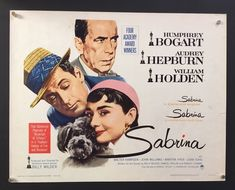 Romantic comedy timeless classic features Audrey Hepburn as the daughter of the chauffeur for a super rich family whose two brothers Humphrey  Bogart and William Holden fall in love with her. Charming and very funny thanks to director and co-writer Billy Wilder. A dream of a delight. Sabrina 1954, Billy Wilder, Rich Family, Humphrey Bogart, Two Brothers, Timeless Classic, Audrey Hepburn, Good Movies, I Movie