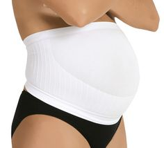 White Carriwell Maternity Support Band - Medium (Size 10/12)