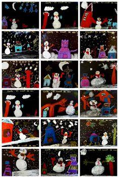 conte : el ninot de neu