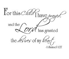 Thankful for answered prayers