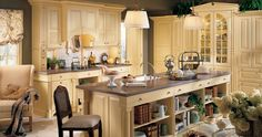 English Country Kitchen | Wood-Mode | Fine Custom Cabinetry