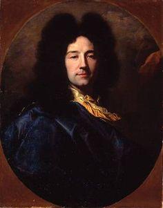 Self-Portrait, 1696 (Hyacinthe Rigaud) (1659-1743) Christie's Sale, London 11/2/2001