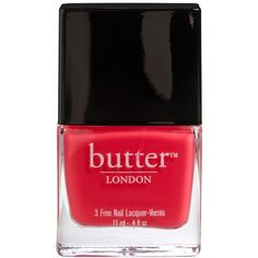 butter LONDON Nail Lacquer Macbeth One Size (47 BRL) ❤ liked on Polyvore featuring beauty products, nail care, nail polish, beauty, nails, makeup, fillers, butter london nail lacquer, butter london and butter london nail polish