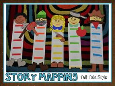 Elementary Shenanigans: How tall are your Tall Tales? Tall Tales Activities, Literacy Activities, Reading Activities, Traditional Literature, Traditional Tales, Elementary Shenanigans, Genre Study, Common Core Reading, Literature Circles