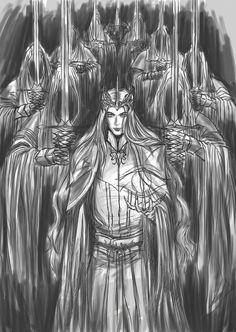 Sauron and Nazgûl