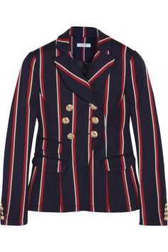 Altuzarra - Seth striped wool and cotton-blend blazer 3f3f8c011