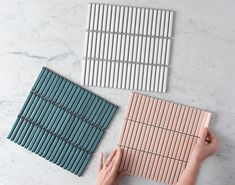 We can't wait to see the beautiful homes that will be created with this collection. Get a sample online today to start the transformation of your home. Public Space Design, Mosaic Tiles, Wall Tiles, Outdoor Tiles, Coastal Bathrooms, Bathroom Layout, Color Tile, Mid Century House, Material Design