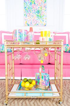 """See our web site for additional information on """"gold bar cart decor"""". It is actually a superb place to read more. Diy Bar Cart, Gold Bar Cart, Bar Cart Styling, Bar Cart Decor, Bar Carts, Social Bar, Cocktails Bar, Outside Bars, Bar Furniture"""