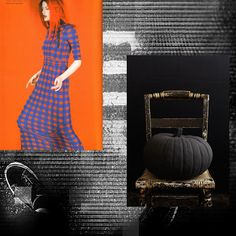 Daily Fagioli 20 Human,Space,Object    H: Cameron Russell -photo credit unknown  S: space photo tvdisilvio  O: credit unknown-source http://awhitecarousel.com/  ORANGE and BLACK    Local model Cameron Russell gets our halloween moving in fantastic orange!  A black pumpkin adds to our noir evening, overlaid upon our fine streets.
