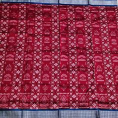 Sambalpuri Saree, Pure Silk Sarees, Pure Products, Blouse, Link, Red, Beautiful, Jewelry, Design