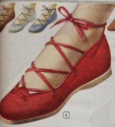 quality design e06af 20192 1950s espadrille shoes Vintage Mode 1950-talet, Dammode, Skor Sandaler,  Högtidsskor,