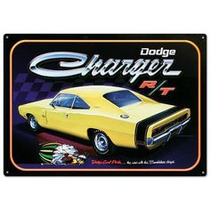 Dodge Charger R/T Car Tin Sign Poster Revolution http://www.amazon.com/dp/B0065PDZYW/ref=cm_sw_r_pi_dp_ItIOwb0PRBWWF